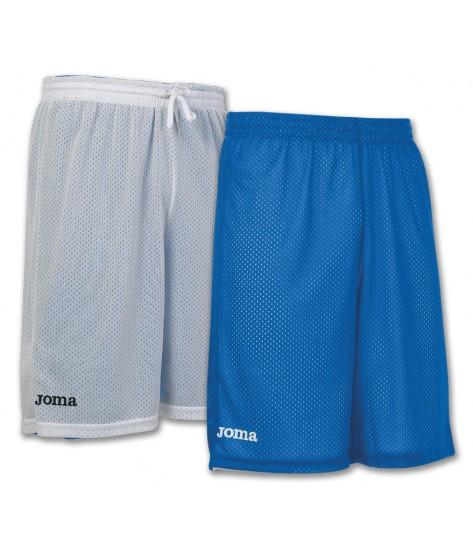 Joma Rookie Reversible Basketball Shorts - White / Royal Blue