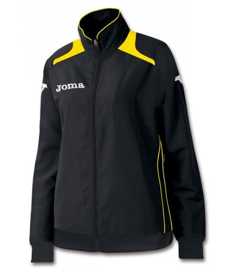 Joma Champion Ladies Tracksuit Top - Black / Yellow
