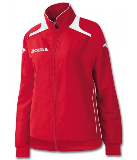 Joma Champion Ladies Tracksuit Top - Red / White