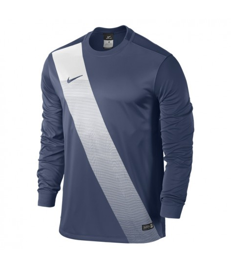 Kids Nike LS Sash Jersey - Midnight Navy / White