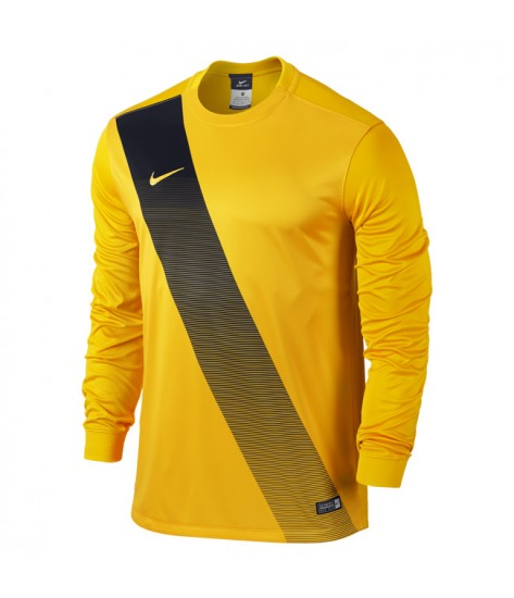 Kids Nike LS Sash Jersey - University Gold / Black