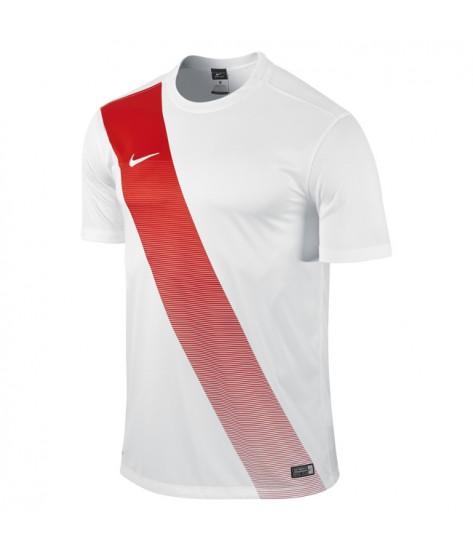 Kids Nike SS Sash Jersey - White / University Red