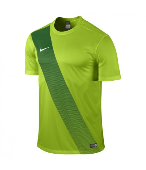Youth Nike SS Sash Jersey - Action Green / Pine Green
