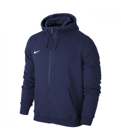 Nike Team Club Full Zip Hoody Obsidian
