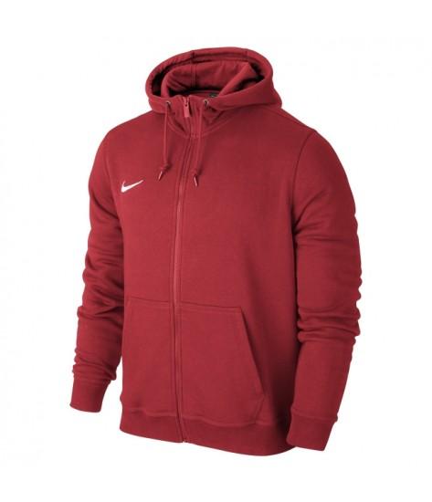 Nike Youth Team Club Full Zip Hoody - University Red