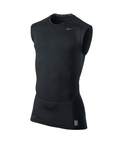 NPC Core Compression Sleeveless Top Black