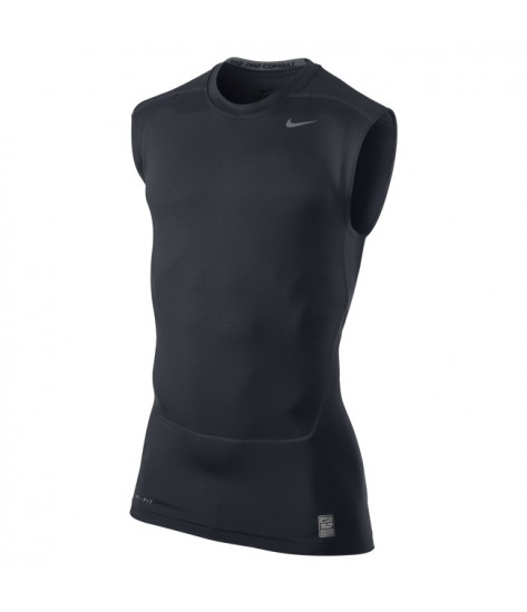 NPC Core Compression Sleeveless Top Dark Obsidian