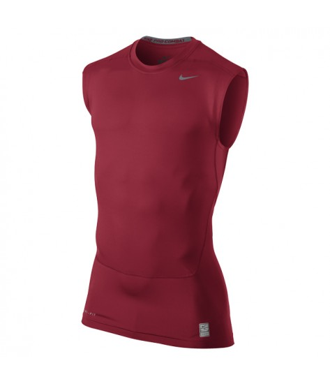 NPC Core Compression Sleeveless Top Gym Red