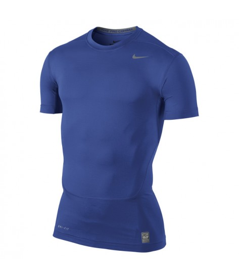 NPC Core Compression Short Sleeved Top Game Royal Blue