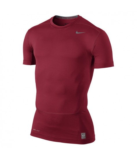 NPC Core Compression Short Sleeved Top Game Gym Red