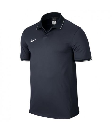 Nike SS Squad 14 Polo Shirt Obsidian / White