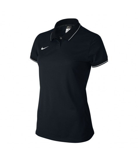 Nike Women's Squad 14 Womens Polo - Black