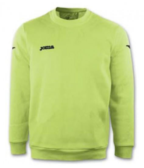 Joma Combi Cairo Polyfleece Sweatshirt - Green Fluor