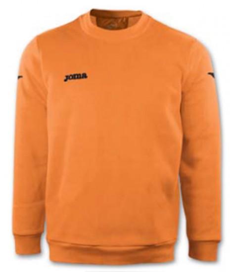 Joma Combi Cairo Polyfleece Sweatshirt - Orange Fluor