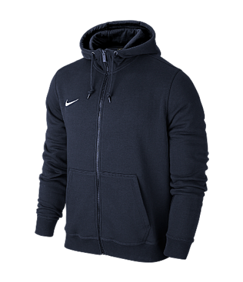 Nike Youth Team Club Full Zip Hoody - Navy