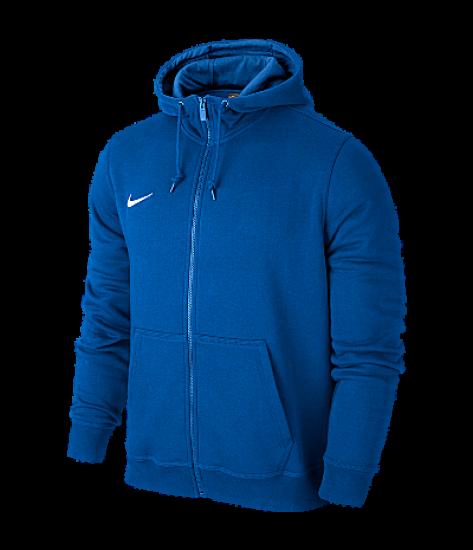 Nike Youth Team Club Full Zip Hoody - Royal Blue