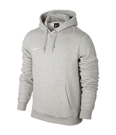 Nike Youths Team Club Hoody Grey