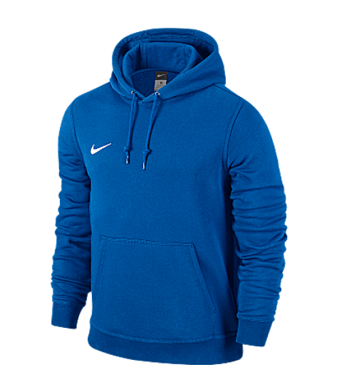 Nike Youths Team Club Hoody Royal Blue