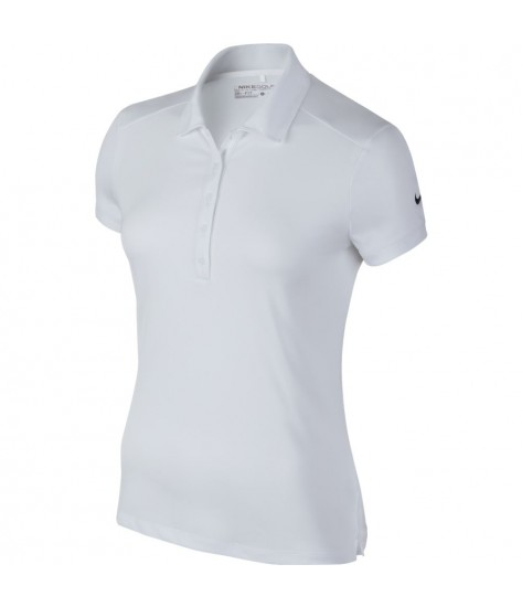 Nike Womens  Dry-FIT Polo - White