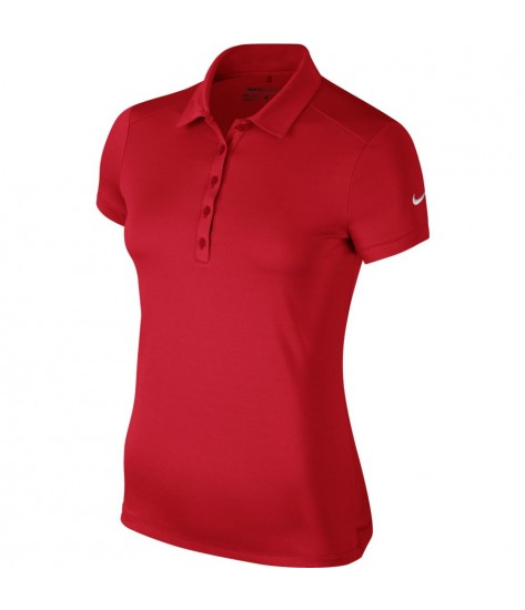 Nike Womens  Dry-FIT Polo - University Red