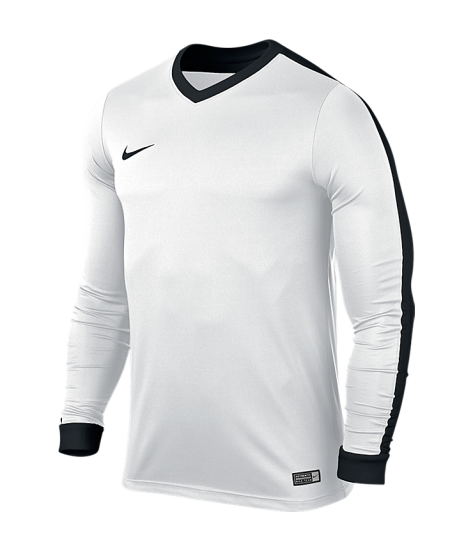 Nike Striker IV LS Tee - White / White / Black