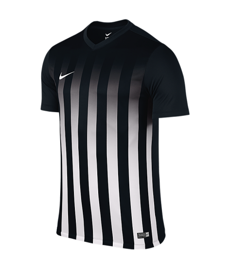 Nike SS Striped Division II Tee - Black / White
