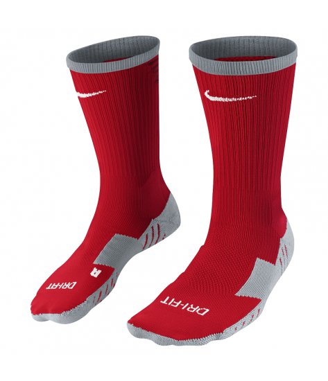 Nike Team Matchfit Core Crew Sock - University Red / Team Red