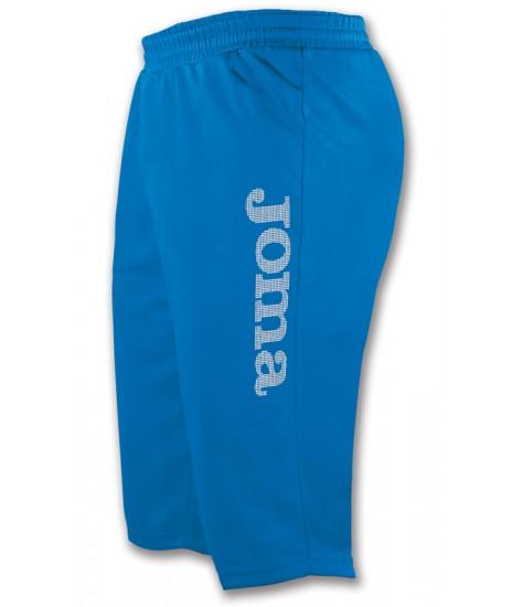 Joma Combi Poly Fleece Bermuda Short Royal Blue / White