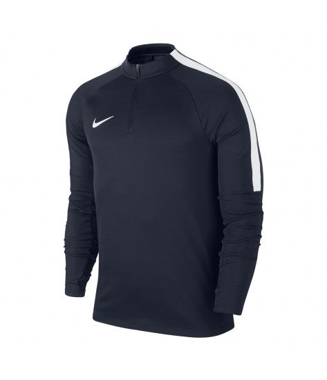 Nike Squad 17 Drill Top - Obsidian / White
