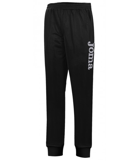 Joma Combi Elastic PolyFleece Long Pant Black / White