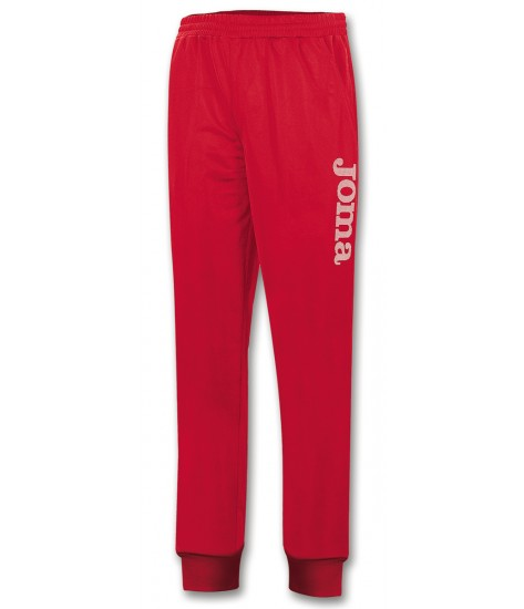 Joma Combi Elastic PolyFleece Long Pant Red / White