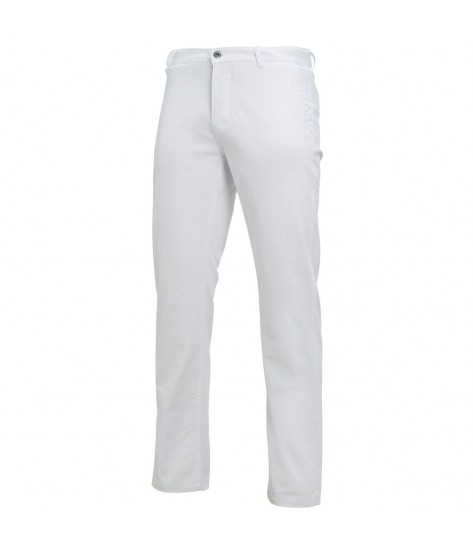 Asquith & Fox Men's Chino - White