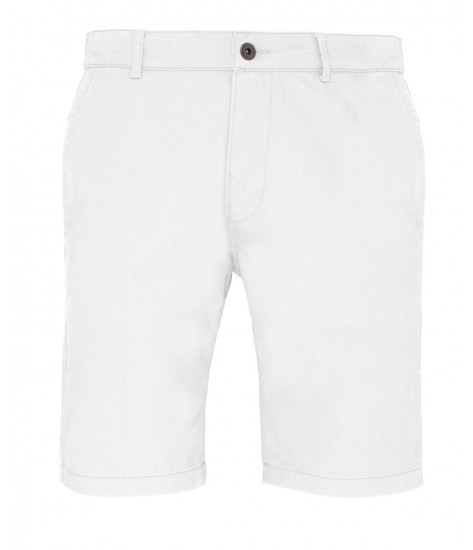 Asquith & Fox Chino Shorts - White