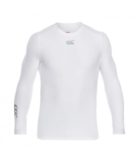 Canterbury ThermoReg Long Sleeve Base layer - White