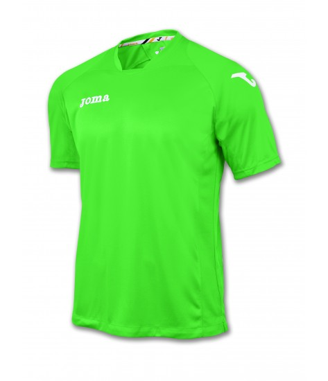 Joma SS Fit One Jersey Green/White