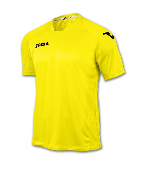 Joma SS Fit One Jersey Yellow/Black
