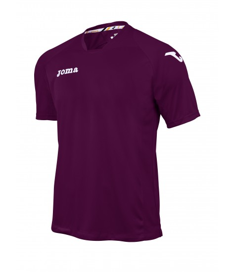 Joma SS Fit One Jersey Burgundy/White