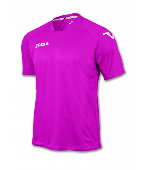 Joma SS Fit One Jersey Pink/White