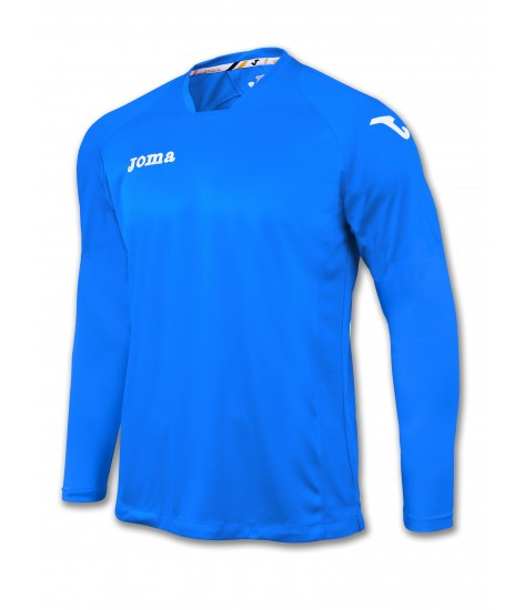 Joma LS Fit One Jersey Royal Blue/White