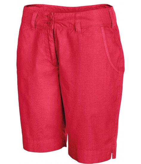 Women's Bermuda Shorts - Washed Red
