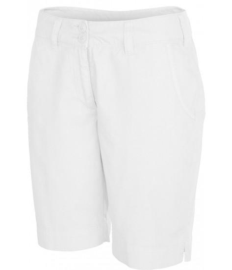 Women's Bermuda Shorts - Washed White
