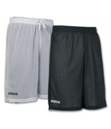 Joma Rookie Reversible Basketball Shorts - White / Black