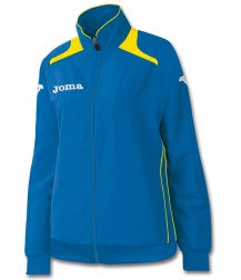 Joma Champion Ladies Tracksuit Top - Royal Blue / Yellow