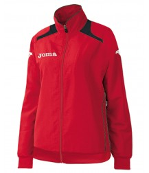 Joma Champion Ladies Tracksuit Top - Red / Black