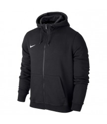 Nike Youth Team Club Full Zip Hoody Black