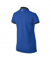 Nike Women's Squad 14 Polo - Royal Blue / Obsidian / White
