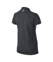 Nike Women's Squad 14 Womens Polo - Anthracite / Black