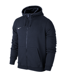 Nike Youth Team Club Full Zip Hoody - Navy