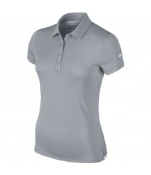 Nike Womens  Dry-FIT Polo - Wolf Grey