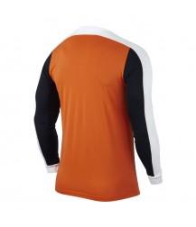 Kids Nike Striker IV LS Tee - Safety Orange / Black / White